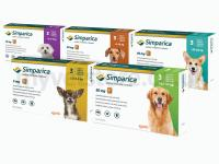 Simparica Palatable Tablets for Dogs